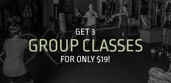 Get 3 Group Class for Only $19